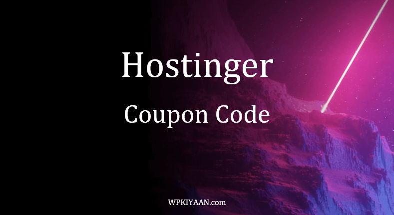 Hostinger Coupon Code